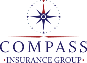 Compass Insurance Group Murfreesboro Logo vertical layout